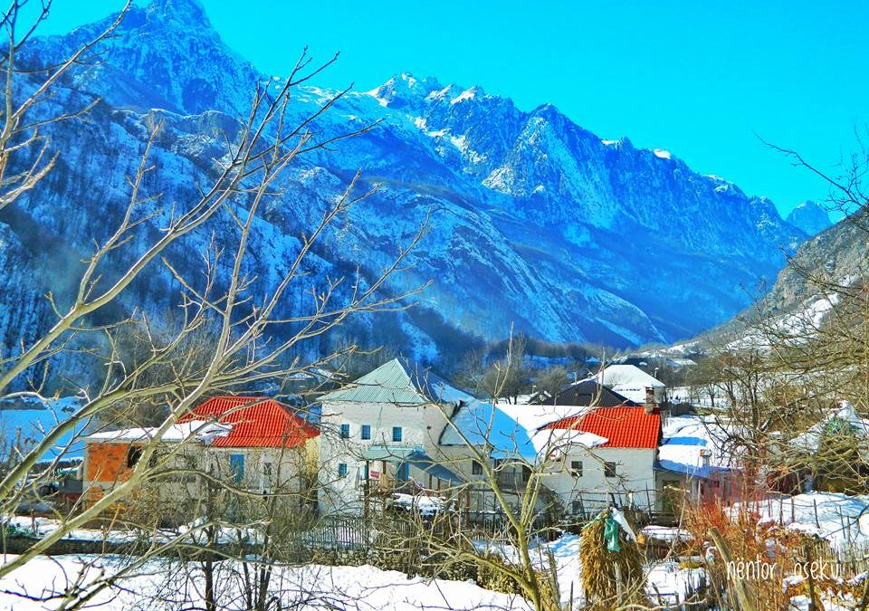 Jorney from Komani Lake to Fierza and to Valbona Valley