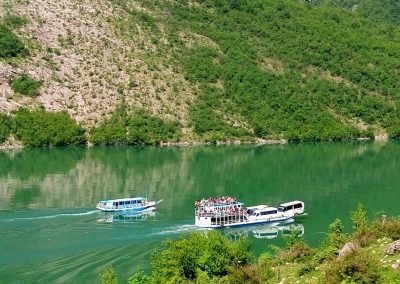 boat dragobia and ferry berisha